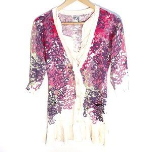 Tabitha | Anthropologie 3/4 sleeve sweater Size S
